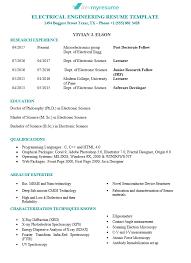 Curriculum Vitae Cv Writing Editing Service Devmyresume