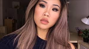 ashy rose makeup tutorial ft photogenic insram monolid eye makeup