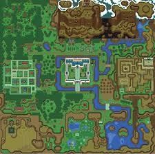 mike's rpg center  zelda a link to the past  maps