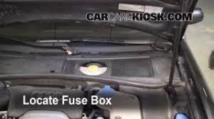 interior fuse box location 1998 2004 audi a6 2004 audi a6 3 0l v6 replace a fuse 1998 2004 audi a6