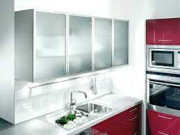 kitchen wall cabinets with glass doors white s