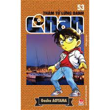 Truyện tranh Thám tử lừng danh Conan tập 53 - NXB Kim Đồng