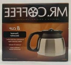 Coffee coffeemakers that require water filters. Mr Coffee Drd95 Rb 8 Cup Stainless Steel Double Walled Thermal