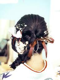 卒業式のヘア着付けのお手伝い 調布市 仙川の美容室 春の空