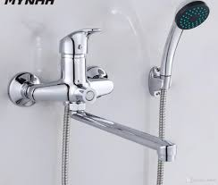 bathroom shower faucets. 2018 Bathroom Shower Faucets Bath Mixer System Tropical Rack With Copper From Dnhall, $50.25   Dhgate.Com D