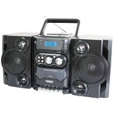 Naxa NPB428 Portable CD/MP3 Player with AM/FM Radio, Detachable Speakers, Remote \u0026 USB Input - Walmart.com