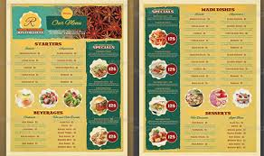 Restaurant Menu Design Templates 45 Menu Design Projects For Creative Fun Restaurants