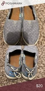 Toms Shoes Youth Size Chart Girls Toms Look Like New Only Used A Few Times Toms Shoes