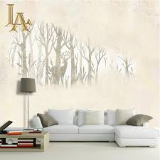 Wallpaper For Bedroom Online Buy Wholesale Forest Mural From China Forest Mural