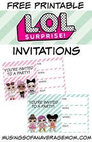 Surprise Images Free L O L Surprise Invitations Lol Surprise Doll Party Madelines