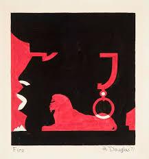 Selected Works - Aaron Douglas (1899-1979) - Artists - Michael Rosenfeld Art