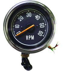 crown automotive j5459418 tachometer for 76 86 jeep® cj series crown automotive j5459418 tachometer for 76 86 jeep® cj series quadratec