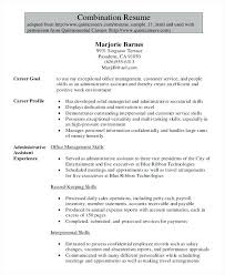 skills for administrative assistant resumes administrative assistant sample resume 6 legal administrative