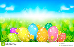 Easter Template Happy Easter Template Tv Size Banner Vector Clip Art