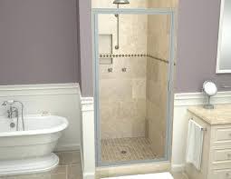 redi tile shower pan swing shower door swing shower doors redi tile shower pan