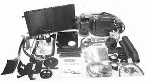 air conditioning parts. description: classic auto air conditioning parts