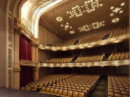 Interior Rendering Of The Hudson Theatre On Broadway In Nyc