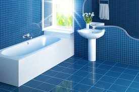 clean tiles bathroom