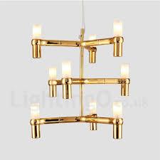 9 light 3 tier modern contemporary chandelier lamp for living room dining room light