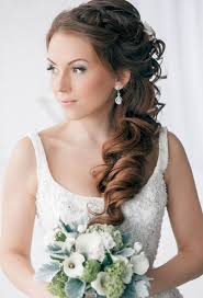 Coiffure Mariage Sur Le Cote Maquillage Mariage