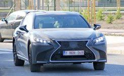 2018 infiniti v8. unique infiniti spyshots 2019 lexus ls f spotted could pack twin turbo v8 with regard to  for 2018 infiniti v8 t