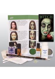 deluxe wicked witch makeup