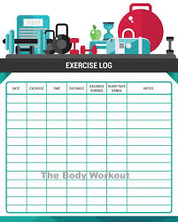 Workout Chart Workout Log Exercise Log Fitness Diary Gym Log Gym Diary Workout Chart Fitness Chart Fitness Log Workout Journal Fitness Journal