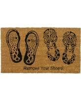 Plain Decorative Rubber Floor Mats Coir Door Mat Rubbercal With Design Ideas