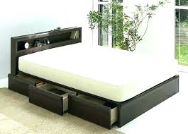 platform beds with storage queen size – gofamily.info