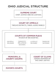 Ohio Felony Chart Judicial System Structure