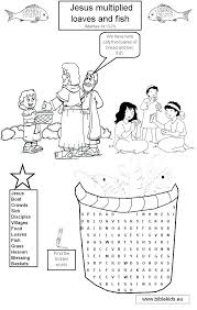 free loaves and fishes coloring pages fish bread page outstanding interesting