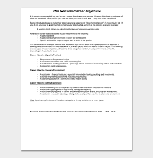 Objective For Resume For Bank Job Fresher Resume Template 50 Free Samples Examples Word