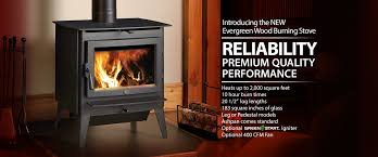 lopi evergreen wood burning stove