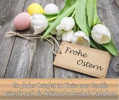 Wir wünschen euch fröhliche ostern. Ostergrusse Der St Michael Schutzenbruderschaft Dedenborn Die Perle Im Rurtal