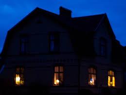 lighting a house. House Windows Lighting A