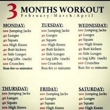 Exercise Daily Routine Chart 97 Best Fit Images In 2019 Diary Ideas Health Wellness