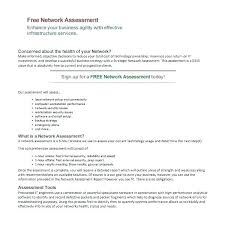 Network Report Template