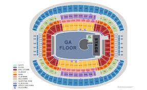 Cowboys Stadium Chart At T Stadium Seating Chart At T Stadium Arlington Texas