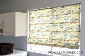 Diy No Sew Curtains Easy Diy No Sew Roman Shades Fun Cheap Or Free