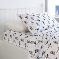 nate nat 3 piece hockey twin flannel sheet set