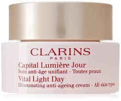 Vital Light Day Cream Clarins Vital Light Day Illuminating Anti Ageing Cream For Unisex 1 7 Ounce