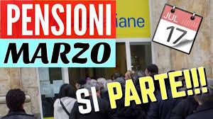 PAGAMENTO PENSIONI MARZO 👉SI PARTE CON I PAGAMENTI!! 💶 - YouTube