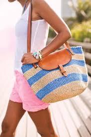 summer beach bags. Brilliant Bags A Beach Bag With Leather Accents Inside Summer Beach Bags E