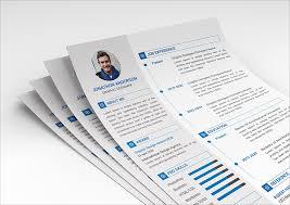 10 Fresh Free Resume Cv Design Templates 2018 In Word Psd