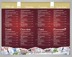 Free Food Menu Template Interesting Restaurant Menu Template 48 Free PSD AI Vector EPS Illustrator