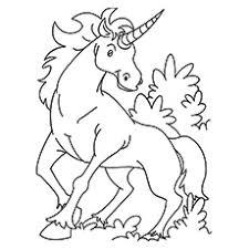kirin unicorn printable coloring pages