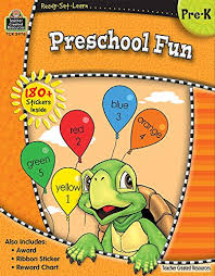 Sticker Reward Chart Pdf Download Preschool Fun Pre K With 180 Stickers Ribbon