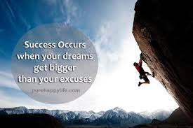 Dream Of Success Quotes Best of Success Quote Success Occurs When Your Dreams Get