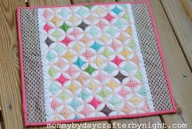 Mommy by day Crafter by night: Darling Doll Quilt Tutorial & For this dolly quilt, I used some of the leftover fabric that I had from my  Tied with a Bow Car Seat Canopy- which was the Fly a Kite fabric by Riley  ... Adamdwight.com