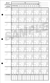 Softball Pitching Chart Template Baseball Pitching Charts Pitching Chart Softball